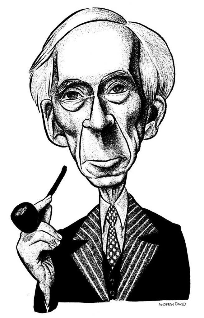 Bertrand Russell, por Andrew David