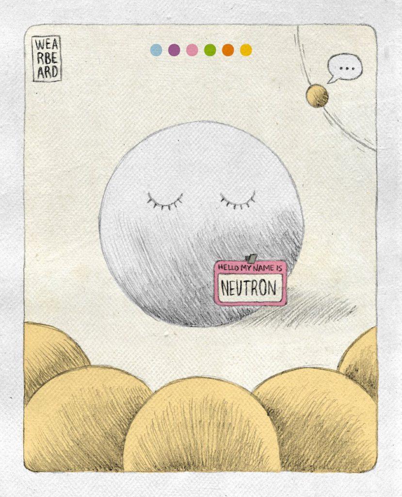 El descubrimiento del neutrón- Wearbeard, Sinc