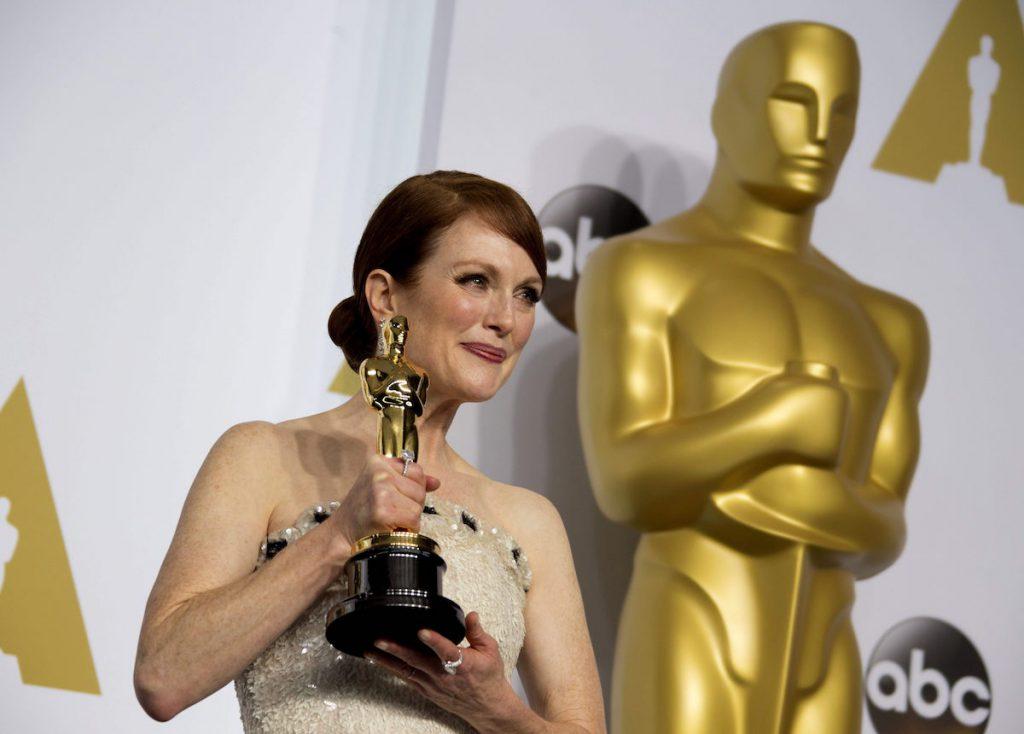 La actriz estadounidense Julianne Moore ganó un Óscar en 2015 por su papel la película Siempre Alice- EFE, Armando Arorizo