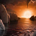 Los exoplanetas de TRAPPIST-1 pueden tener hasta 250 veces más agua que la Tierra
