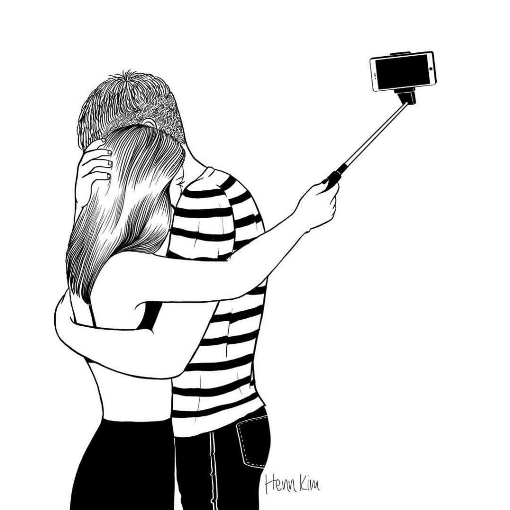 Selfie del amor- Henn Kim
