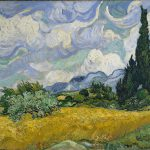 Campo de trigo con Cipreses, 1889, Vincent van Gogh- Metropolitan Museum of Art