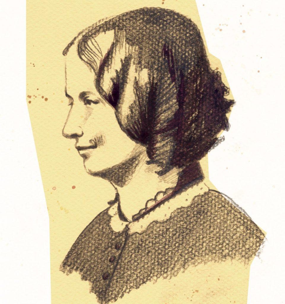Charlotte Brontë- Irene Cuesta