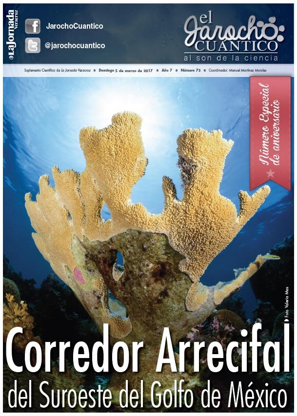 El Jarocho Cuántico 72: Corredor Arrecifal del Suroeste del Golfo de México