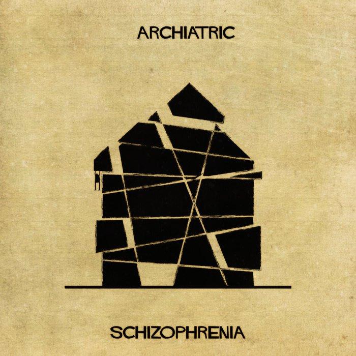 Archiatric, ¿cómo se verían las enfermedades mentales si fueran casas?