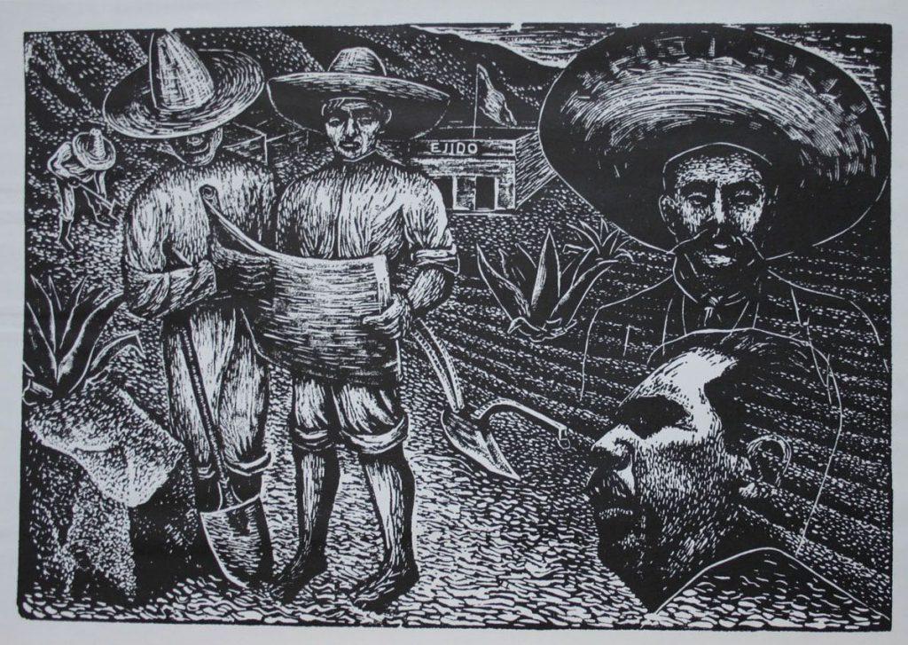 La constitución del ejido y la Reforma Agraria