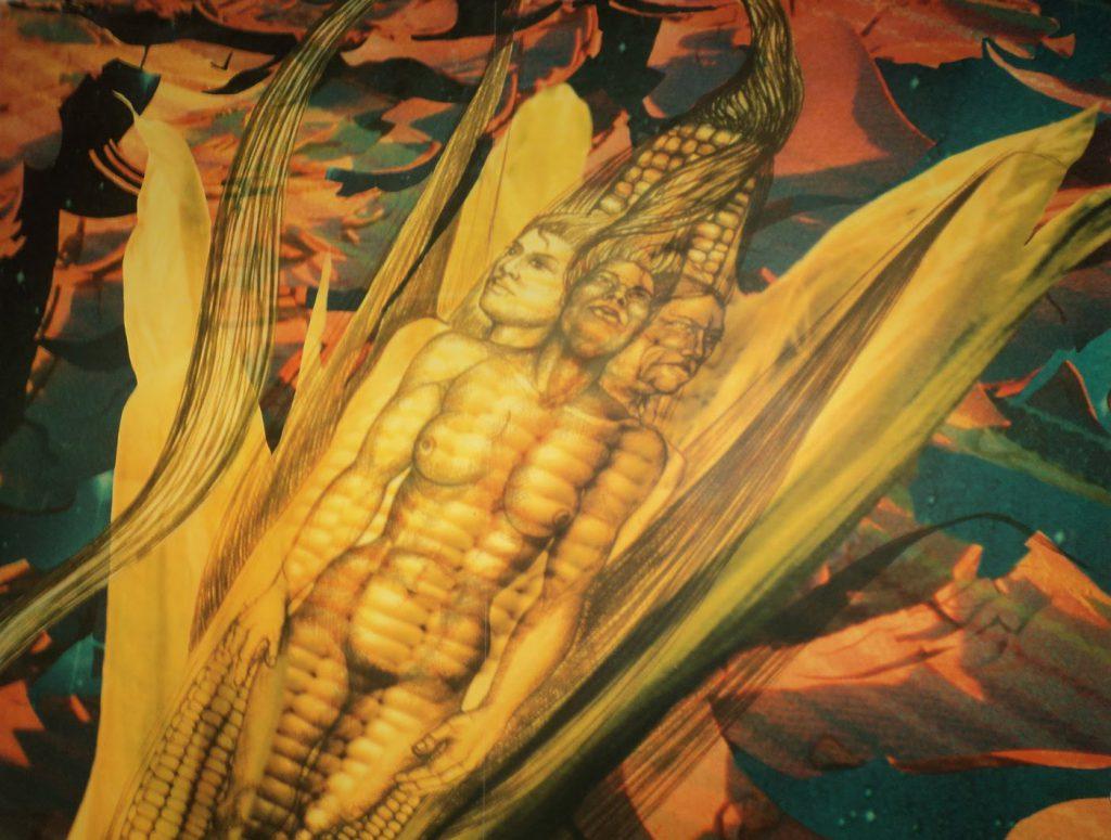 La creación del hombre de maíz
