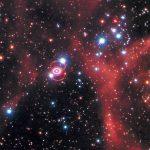 Así se ven los restos de una supernova