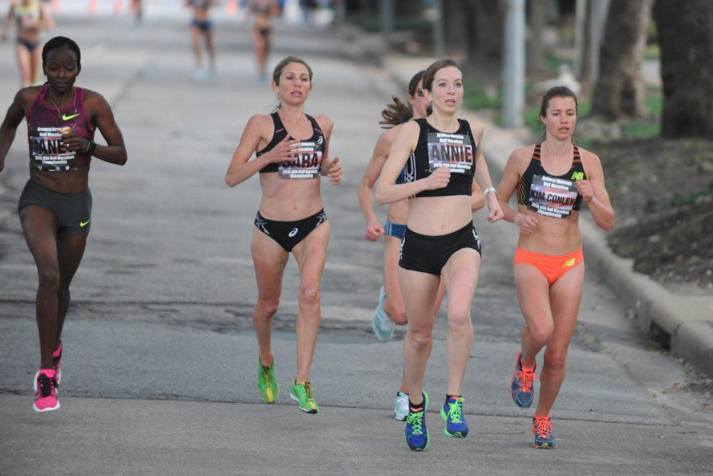 Carrera femenina, atletismo- Ed Uthman