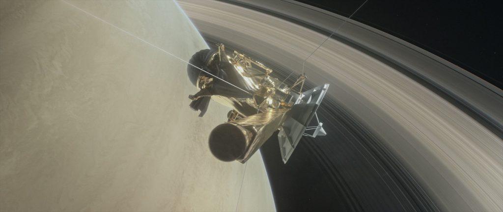 Cassini, entre Saturno y sus anillos- NASA/JPL-Caltech