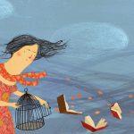 Es primavera: dejemos volar los libros. Ilustración de Susan Sontag