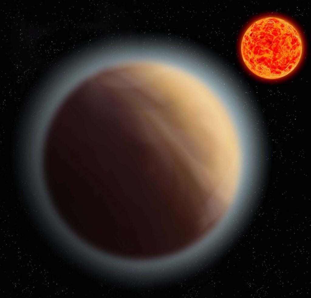 Un exoplaneta similar a la Tierra, tiene atmósfera