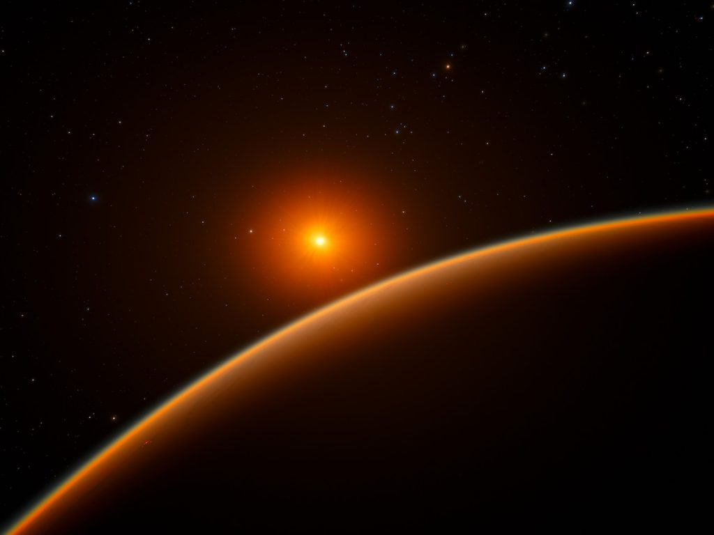 Exoplaneta LHS 1140b- ESO/spaceengine.org