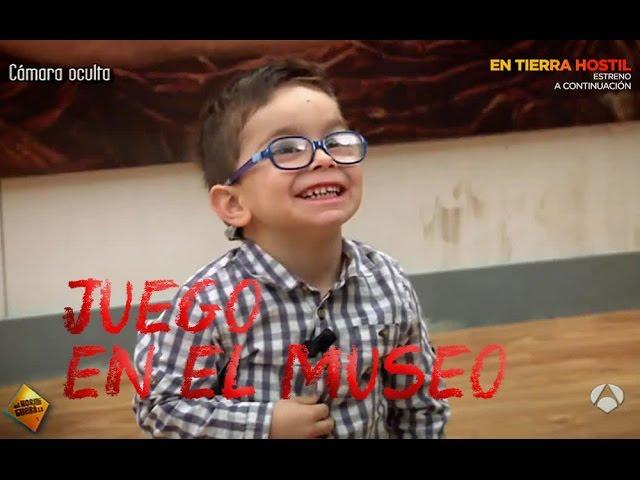 Una forma diferente de ver El Museo del Prado; una cámara oculta con Jandro