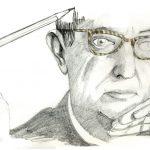 Jean-Paul Sartre, uno de los máximos exponentes del existencialismo, de los mayores filósofos del siglo XX