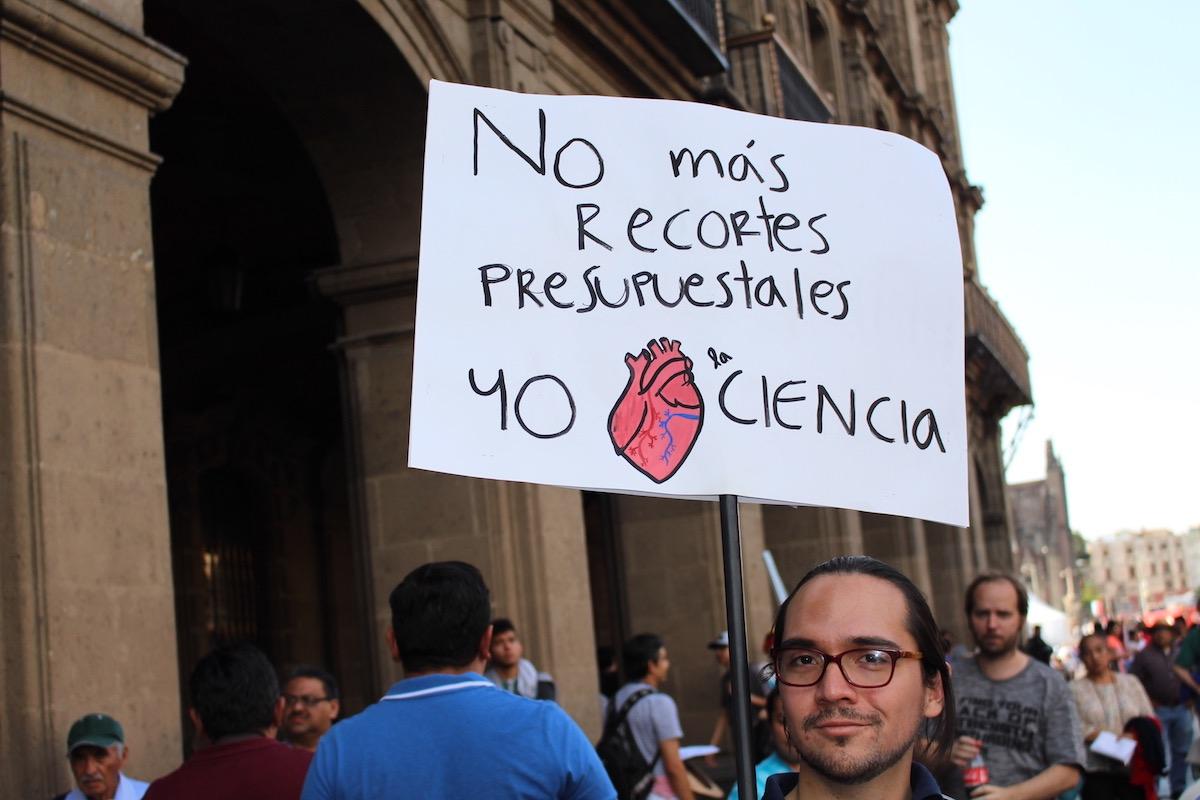 Marcha por la Ciencia, no más recortes