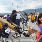 3,006 telescopios apuntando a la Luna simultáneamente, Récord Guinnes