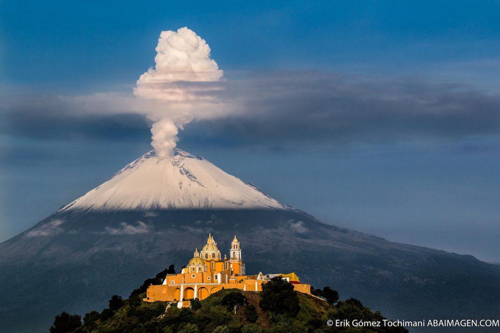 Volcaçán Popocatépetl- Erik Gómez Tochimani