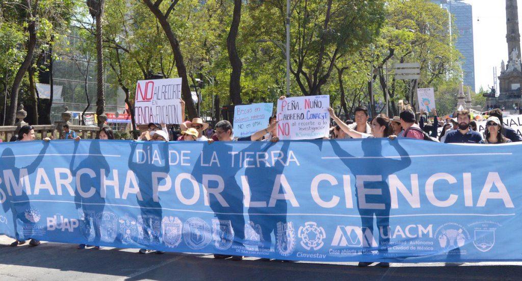 La ciencia desde el Macuiltépetl: Marcha por la ciencia