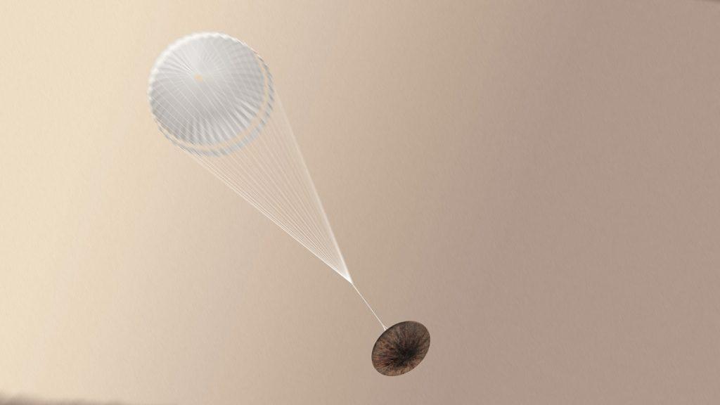 El módulo Schiaparelli se estrelló en Marte, por una falla de la computadora