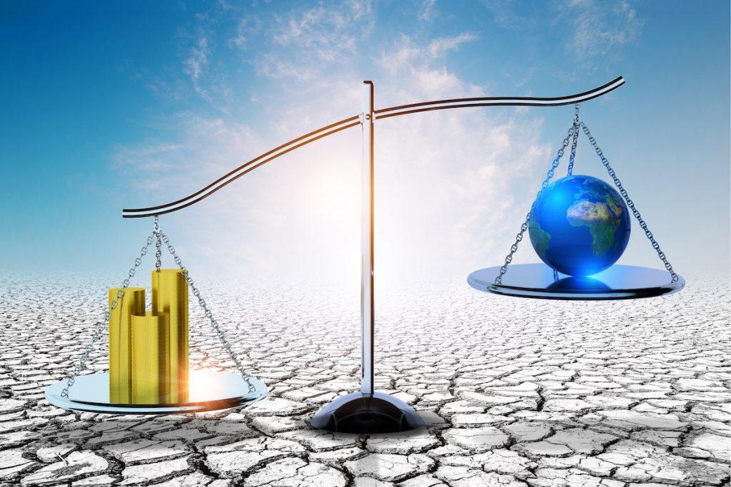 Economía y cambio climático- Shutterstock