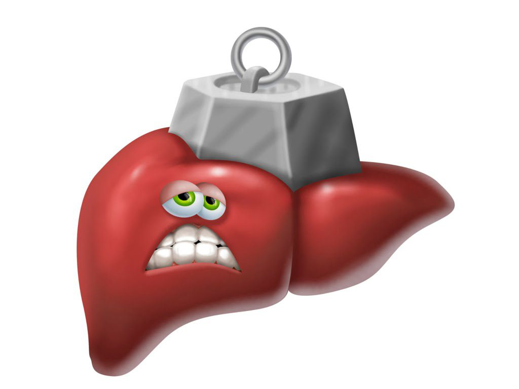 Hígado con sobrecarga