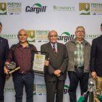Ganadores del premio Cargill-Cimmyt a la seguridad alimentaria y la sustentabilidad 2017