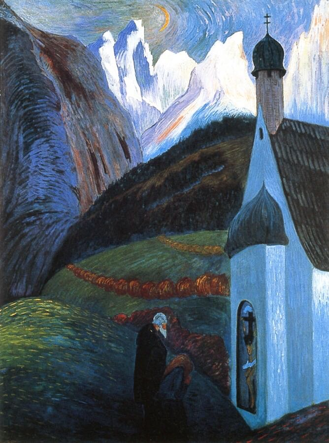 The Prayer, Marianne von Werefkin