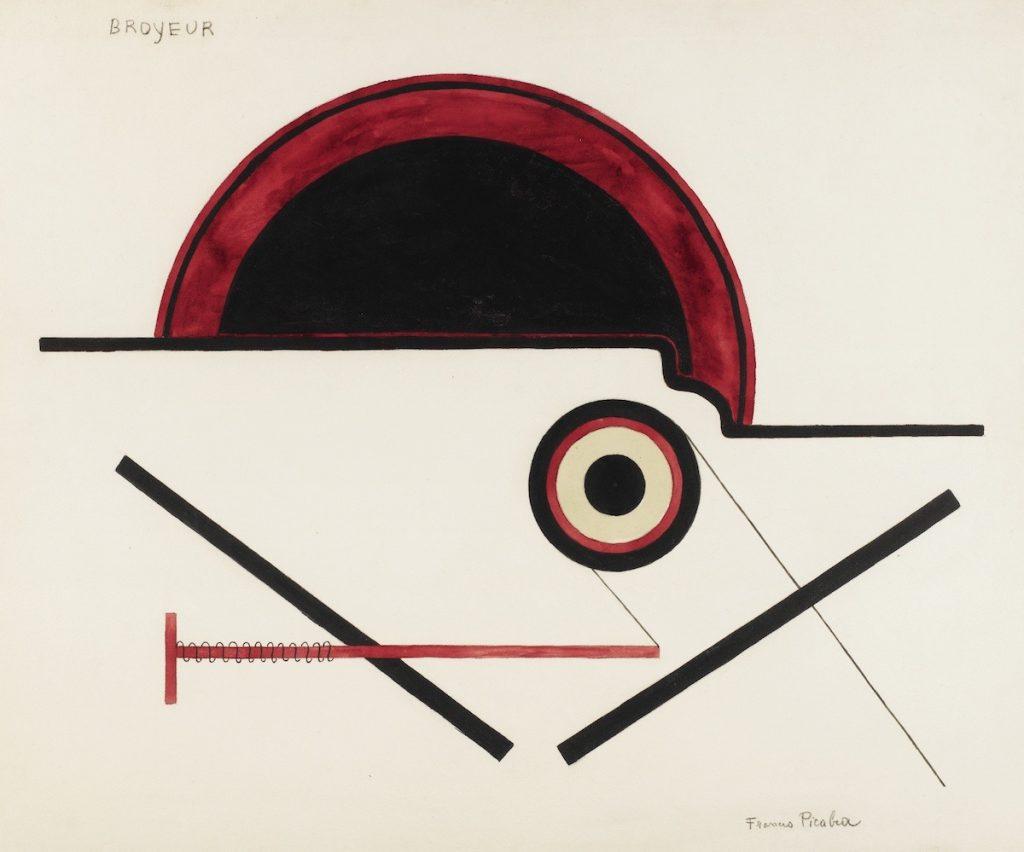Broyeur, Francis Picabia, 1922