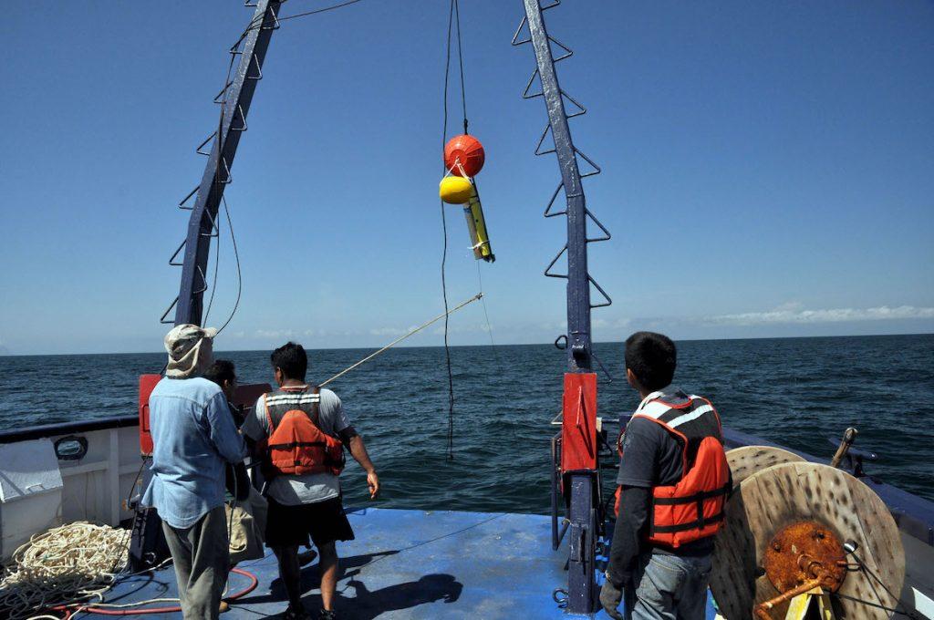 Dispositivo para estudiar el océano profundo