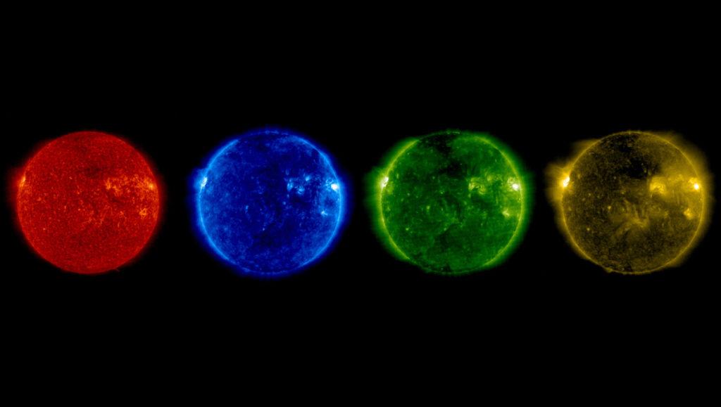 El Sol durante el Solsticio de Junio 2017 visto por el observatorio Soho- SOHO (ESA & NASA)
