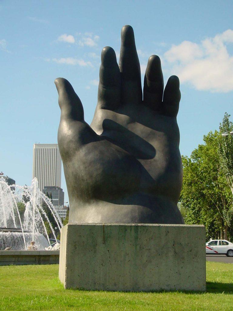 La mano, Fernando Botero