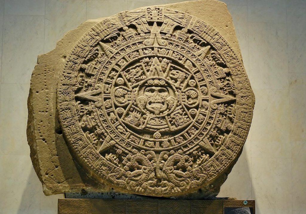 Piedra del Sol- Melitón Tapia, INAH
