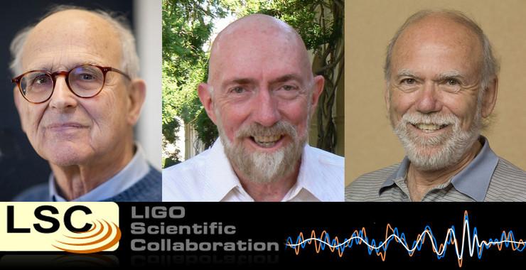 Rainer Weiss, Kip S. Thorne y Barry C. Barish y LIGO, Premio Princesa de Asturias de Investigación Científica y Técnica 2017- MIT, Keenan Pepper, R. Hahn, LIGO