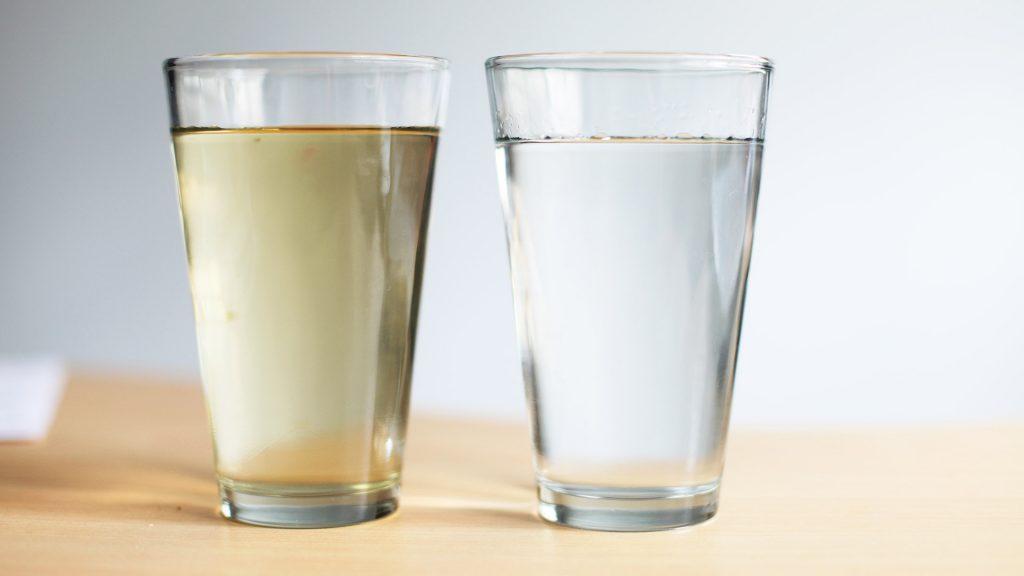 Agua sucia, agua limpia