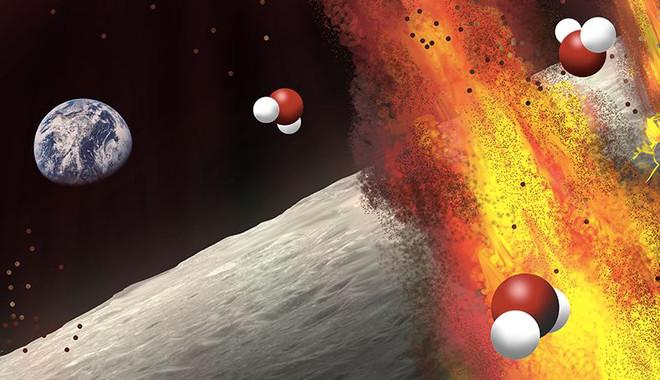 Antiguos depósitos lunares sugieren que el magma lunar contenía una gran cantidad de agua. / Olga Prilipko Huber