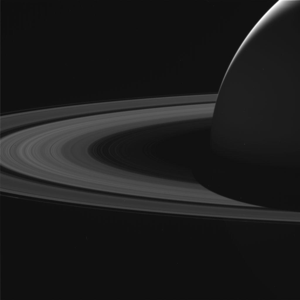 Saturno y sus anillos, vistos por Cassini antes de que se destruya