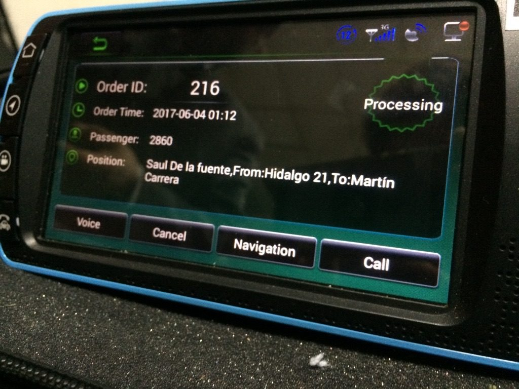 Taximetro inteligente Nitax
