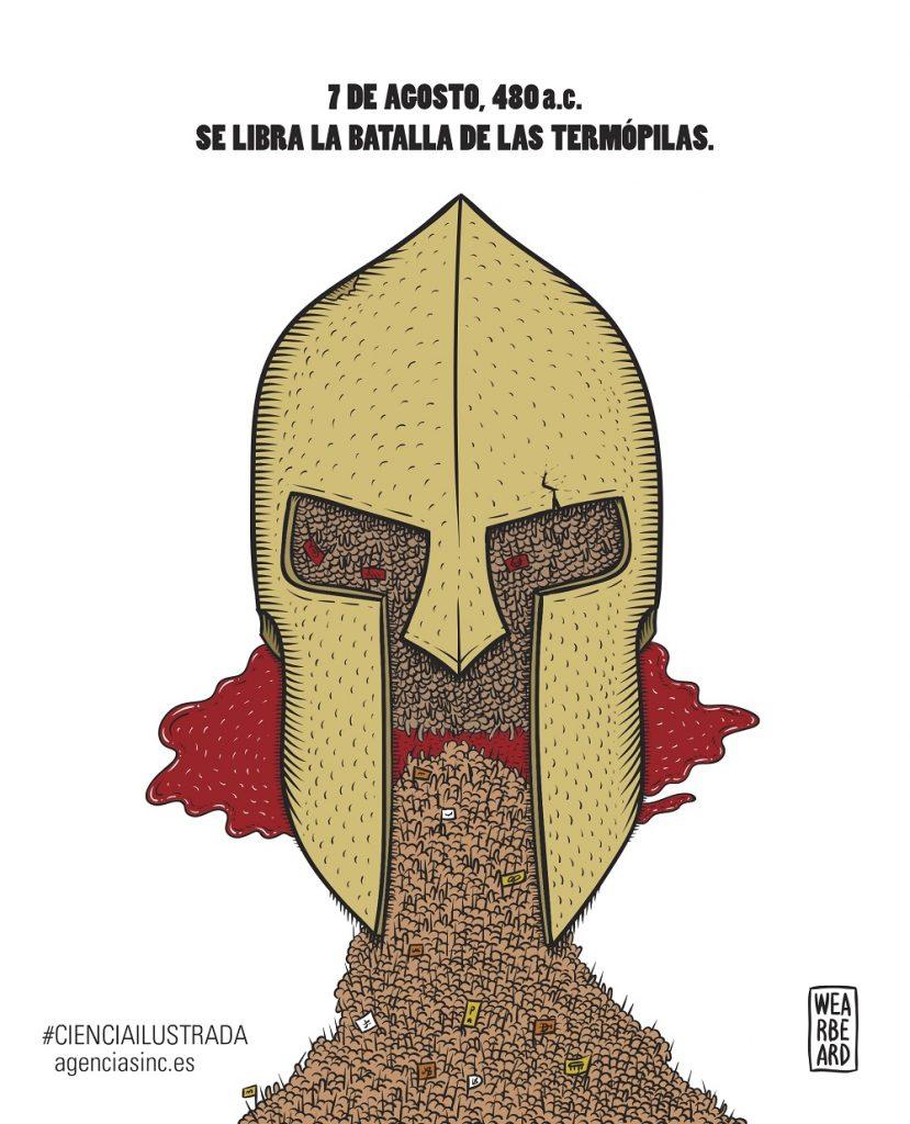 La Batalla de las Termópilas- Wearbeard