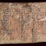 La tabla trigonométrica más antigua del mundo está en una tablilla de Babilonia