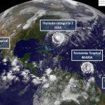 6 disturbios meteorológicos amenazan al continente americano
