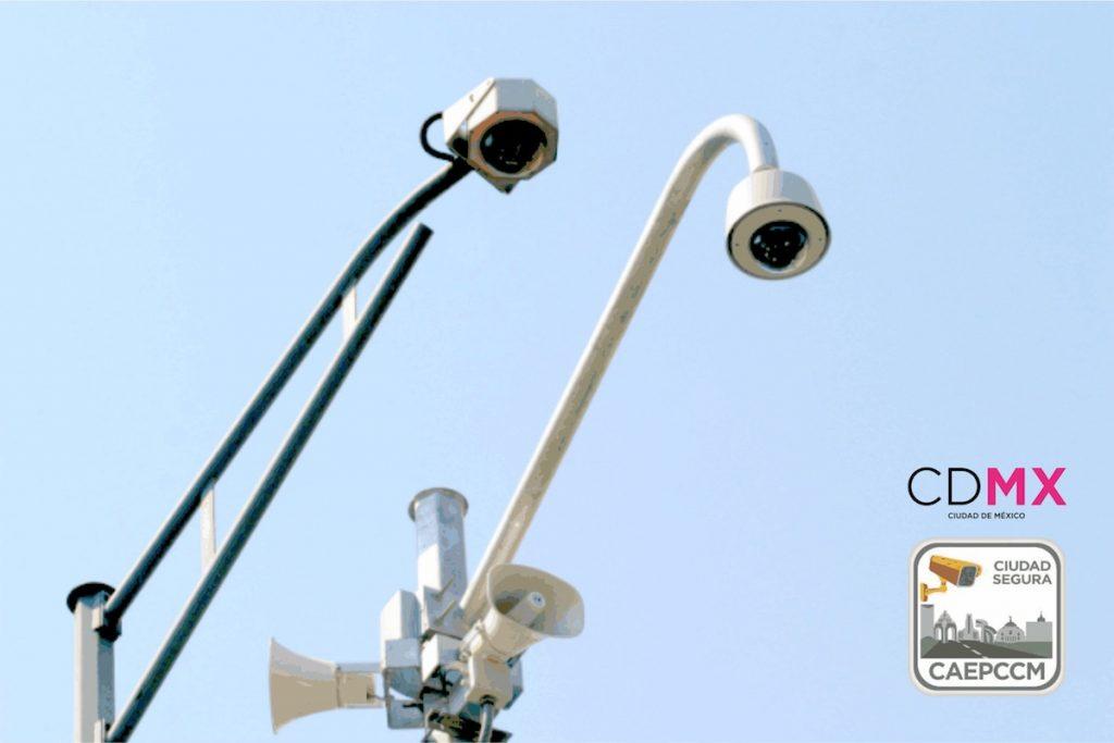 Alerta sísmica y cámaras de vigilancia