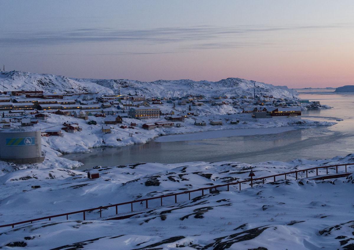 Ciudad de Ilulissat, Groenlandia- Foto ONU, Mark Garten