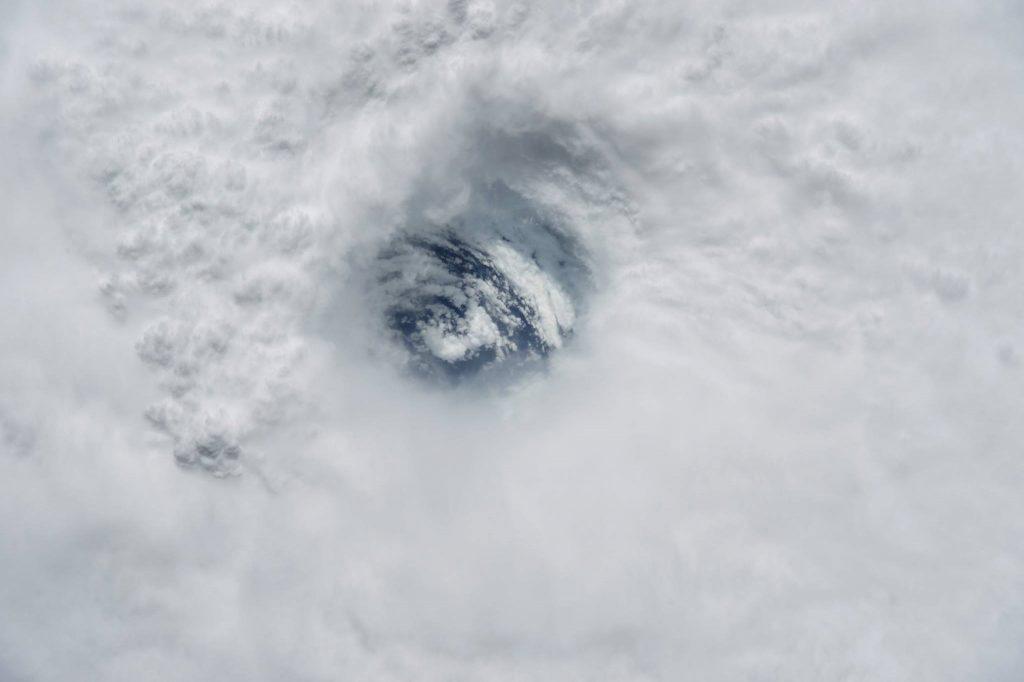 Imágenes impresionantes del huracán José tomadas desde la Estación Espacial Internacional