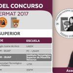 Azael Mendoza, de Misantla, entre los ganadores del concurso Pierre Fermat 2017 de Matemáticas