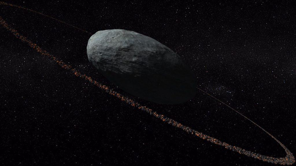 Haumea y su anillo de rocas- IAA