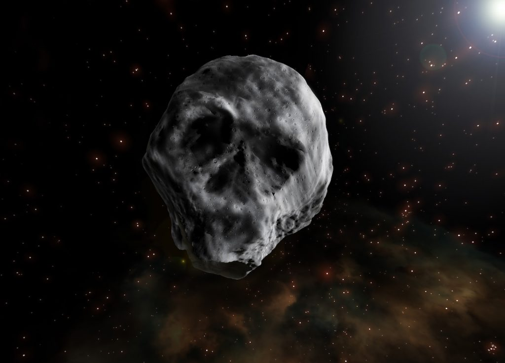 El asteroide de Halloween regresará en 2018