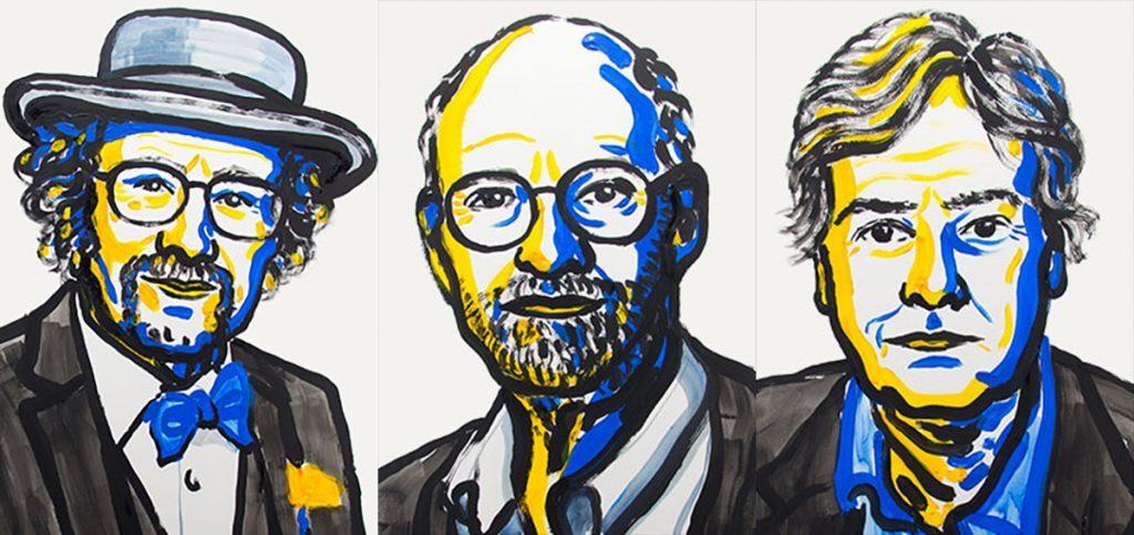Jeffrey C. Hall, Michael Rosbash y Michael W. Young, los ganadores del Nobel de Medicina 2017