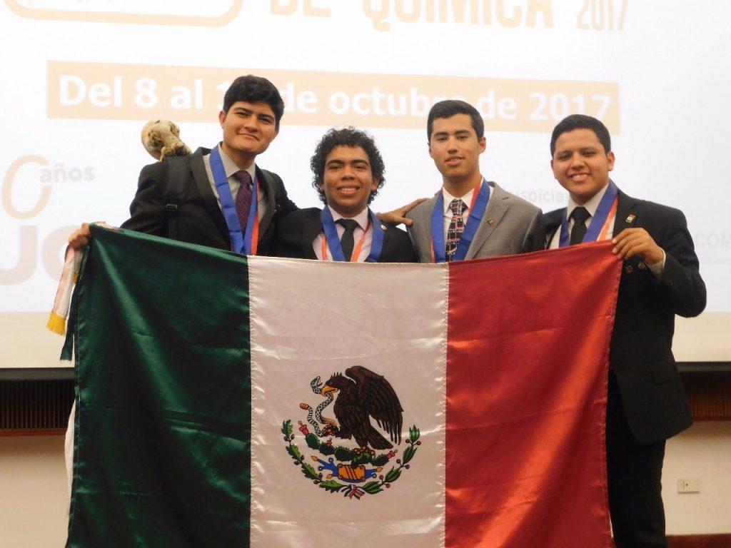 Plata y bronce para México en XXII Olimpiada Iberoamericana de Química