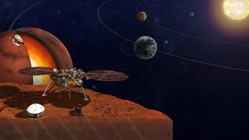 Módulo InSight de la NASA que llevará nombres de terrícolas a Marte- NASA, JPL-Caltech